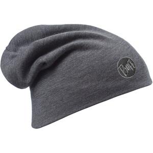 Buff Heavyweight Merino Wool Hat solid grey solid grey