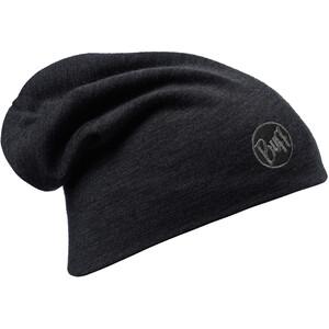 Buff Heavyweight Merino Wool Hat solid black solid black