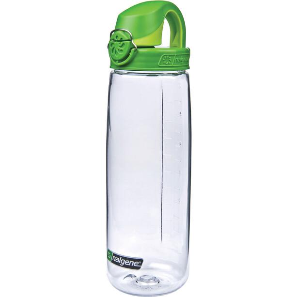 Nalgene Flaska OTF 0,7L Tritan clear/green