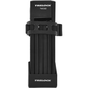 Trelock FS 200 TWO.GO L Faltschloss schwarz schwarz