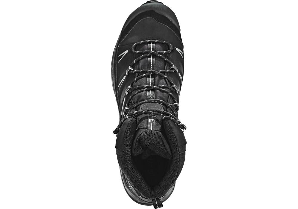 salomon x ultra trek gtx trekking shoes men black black autobahn. Black Bedroom Furniture Sets. Home Design Ideas
