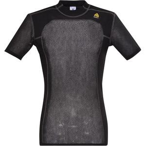 Aclima Woolnet T-paita Miehet, musta musta