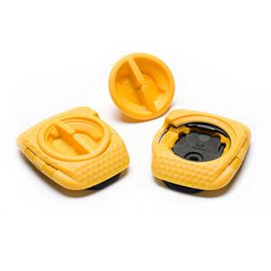 Speedplay Zero Aero Walkable Cleats Set gelb gelb