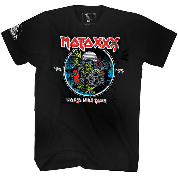 O'Neal Moto XXX T-Shirt World Tour Herren black