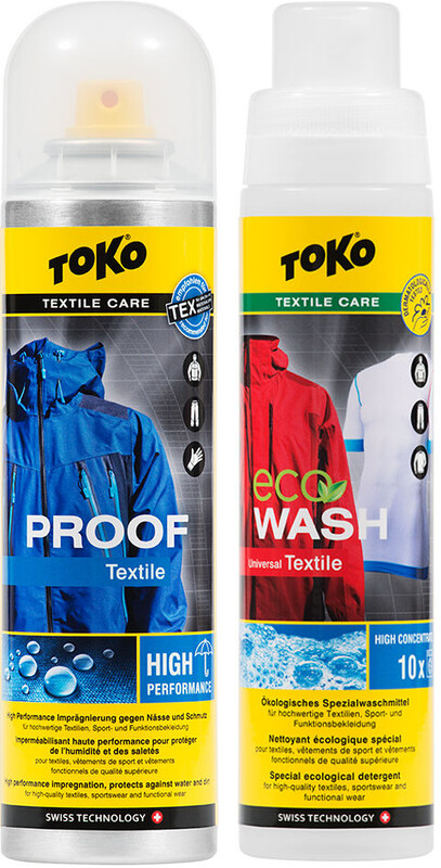 Toko Duo-Pack Textile Proof & Eco Textile Wash 2 x 250ml Textilpflege 5582504