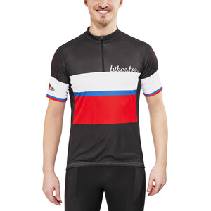 Bikester Basic Team Jersey Herr black/red black/red