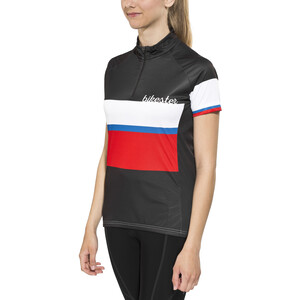 Bikester Basic Team Trikot Damen black/red black/red