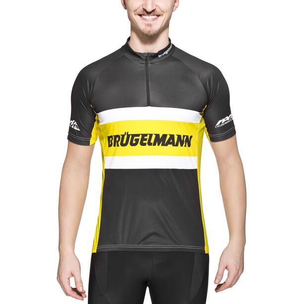 Brügelmann Basic Team Trikot Herren schwarz/gelb