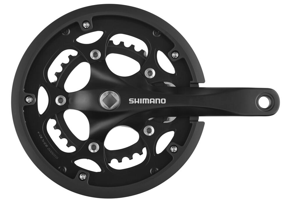shimano fc rs200 kurbelgarnitur 50x34 8 fach schwarz g nstig kaufen bei. Black Bedroom Furniture Sets. Home Design Ideas