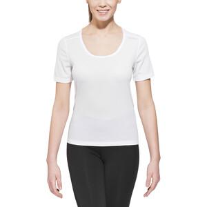 Odlo Cubic Kurzarm Rundhalsshirt Damen white white