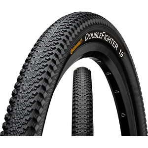 """Continental Double Fighter III Clincher Tyre 26x1.90"""", black black"""
