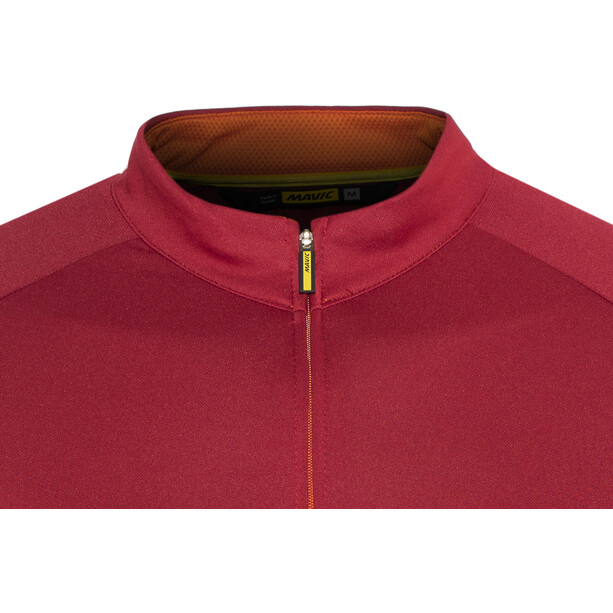 Mavic Aksium Jersey Herr red/orange