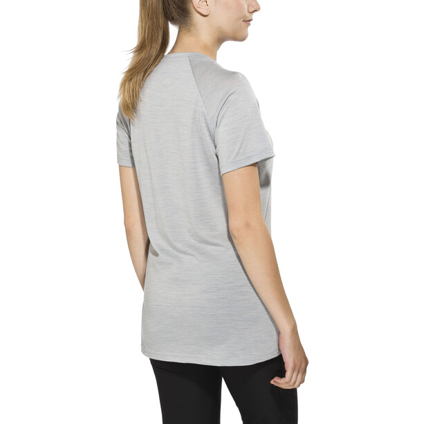 Bergans Sveve Wool T-Shirt Damen alu melange
