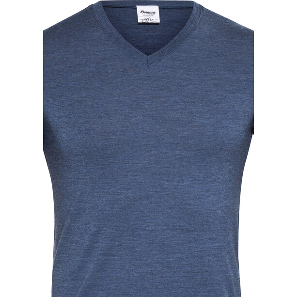Bergans Bloom Wool T-Shirt Herren navy melange