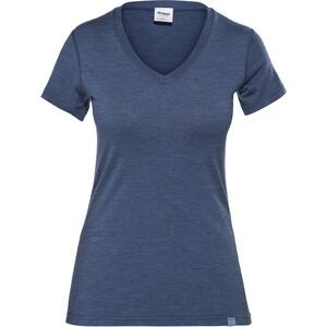 Bergans Bloom Wool T-Shirt Damen navy melange navy melange
