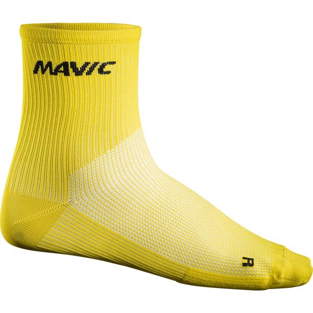 Mavic Cosmic Mid Socks yellow