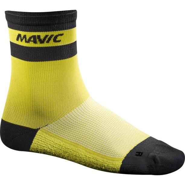 Mavic Ksyrium Carbon Socken yellow mavic
