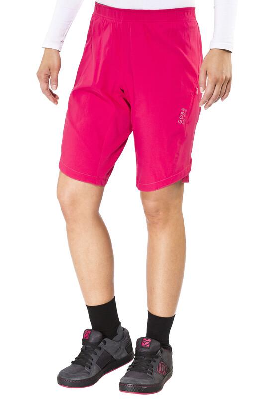 GORE BIKE WEAR Element Sykkelbukse Dame Rosa 40 2016 Sykkelshorts / Baggy shorts