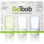 humangear GoToob Small Travel Accessorie 37ml 3-pack clear/green/blue