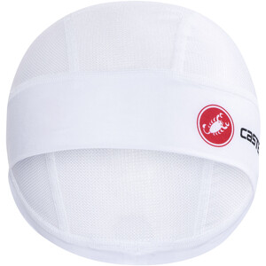 Castelli Sommer Helmmütze white white