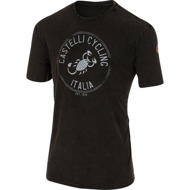 Castelli Armando T-Shirt Homme, noir