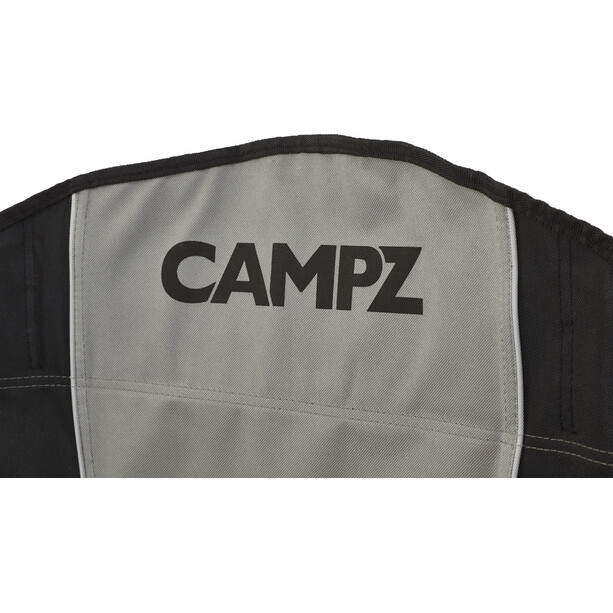 CAMPZ Faltstuhl black/grey