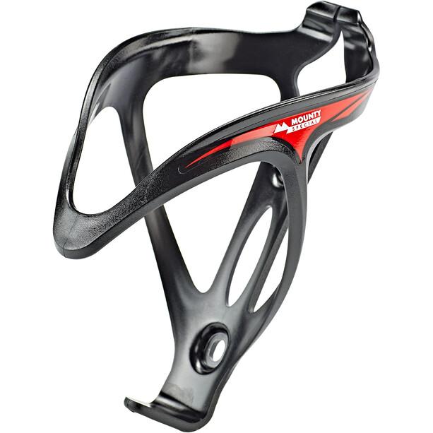 Mounty Race-Cage Flaschenhalter schwarz/rot