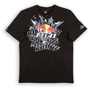 Kini Red Bull Fade T-Shirt Herren black black