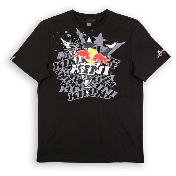 Kini Red Bull Fade T-Shirt Herren black