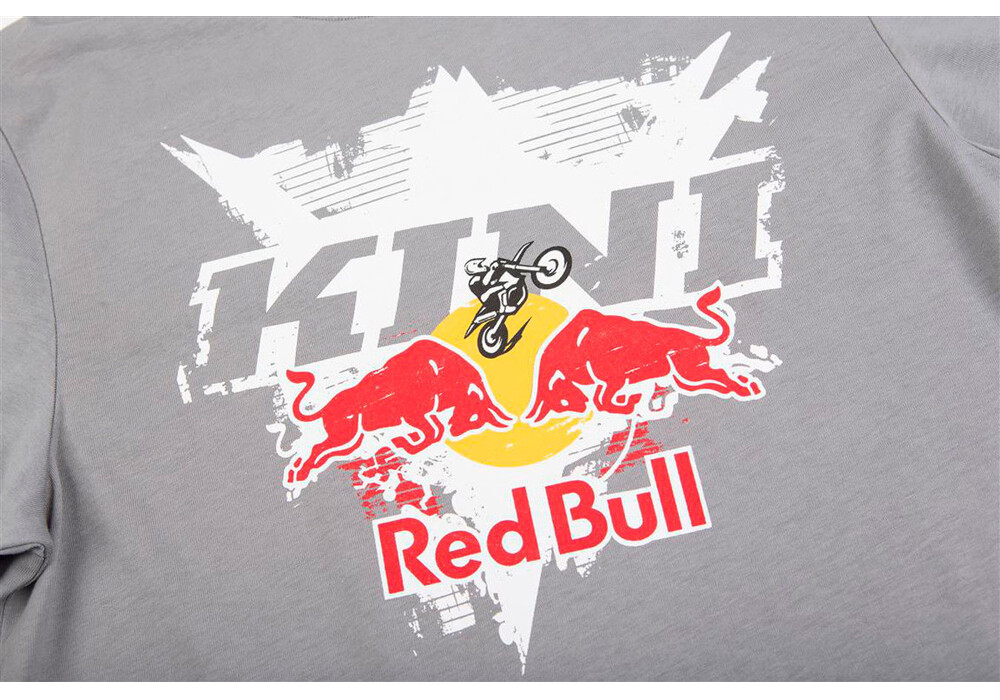 kini red bull interlaced tee men grey g nstig kaufen bei. Black Bedroom Furniture Sets. Home Design Ideas