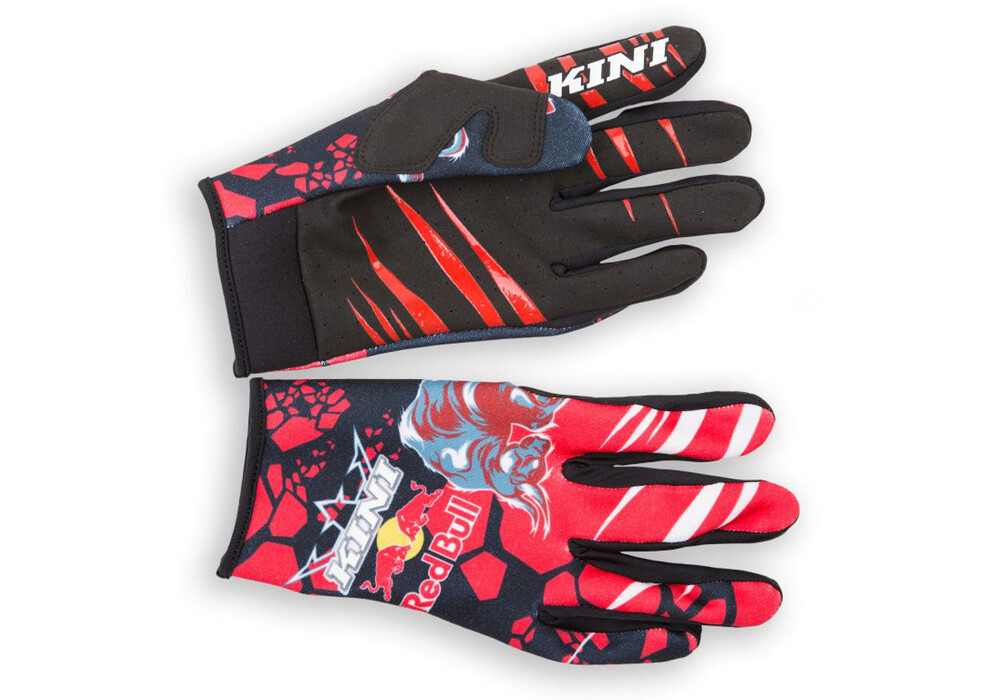 kini red bull revolution gloves red black g nstig kaufen. Black Bedroom Furniture Sets. Home Design Ideas