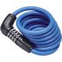 ABUS Numero 5510C/180/10 Spiral Cable Lock SCMU blue
