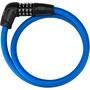 ABUS Numerino 5412C/85/12 Kabelschloss blau