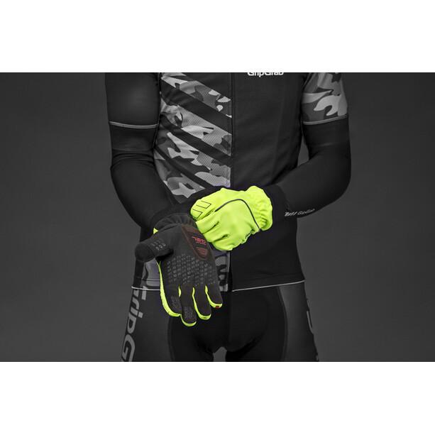 GripGrab Windster Hi-Vis Windproof Winterhandschuhe Herren fluo yellow