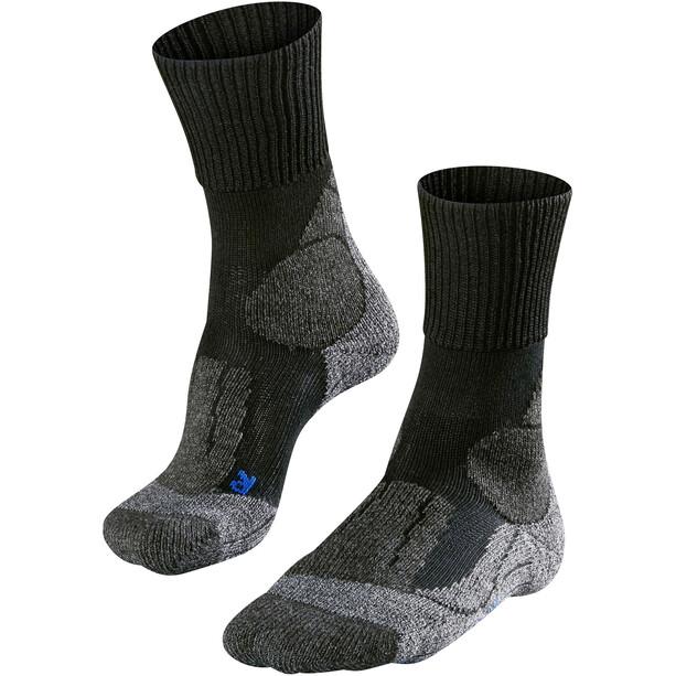 Falke TK1 Cool Trekking Socken Herren black mix