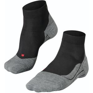 Falke RU4 Calcetines cortos running Mujer, negro/gris negro/gris