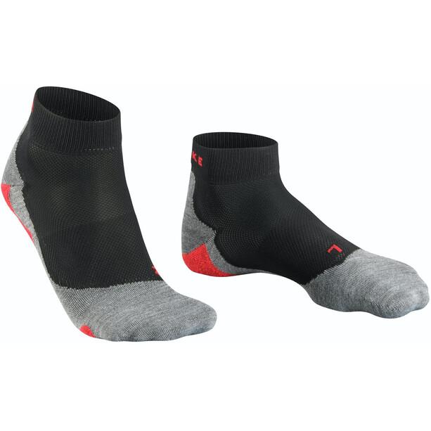 Falke RU 5 Lightweight Short Socks Herr svart/grå