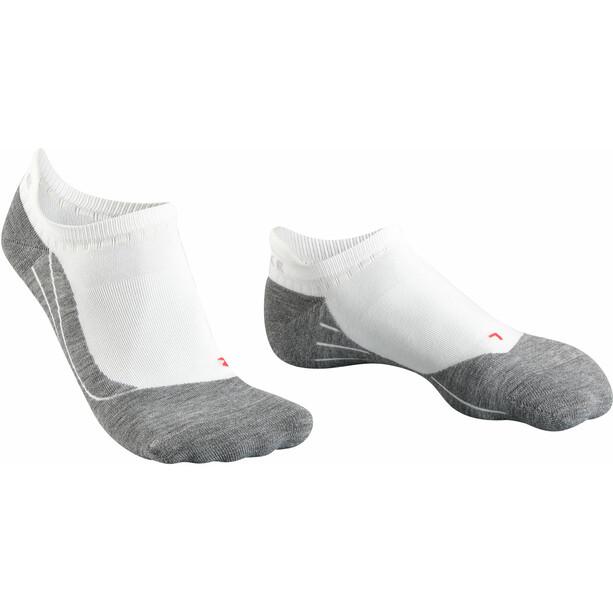 Falke RU4 Invisbile Laufsocken Damen weiß/grau