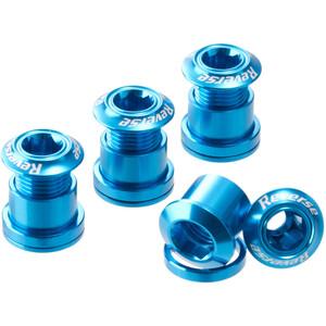 Reverse Kettenblattschrauben blau blau