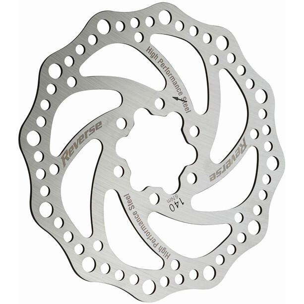 Reverse Brake Disc 6-Loch silber