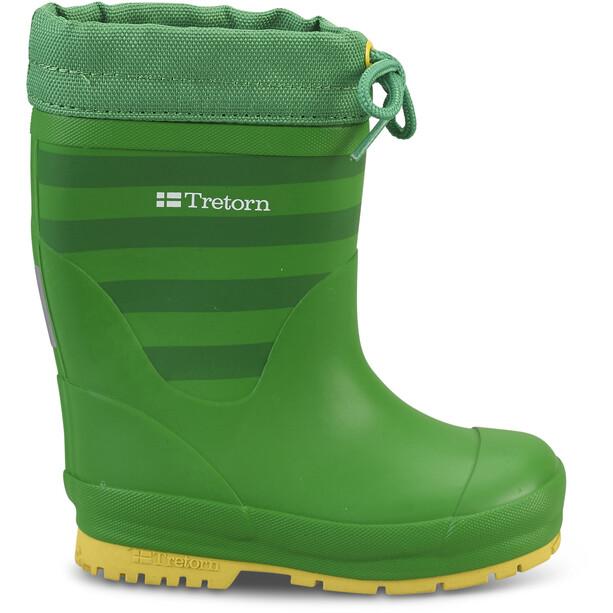 Tretorn Gränna Vinter Rubber Boots Barn green/yellow
