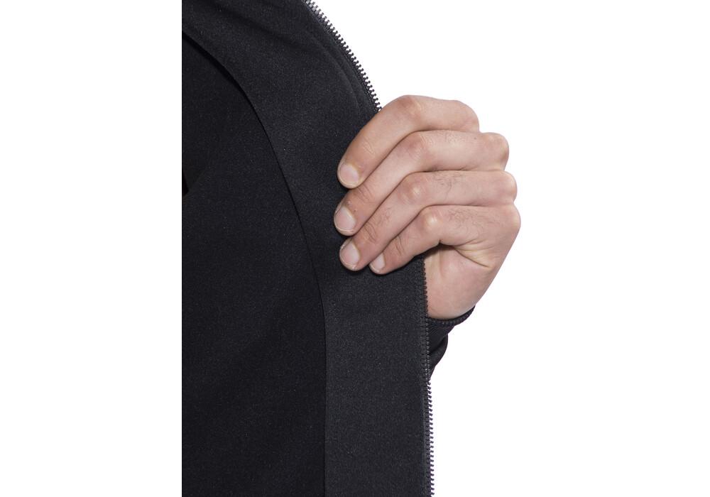 craft in the zone full zip hood men black. Black Bedroom Furniture Sets. Home Design Ideas