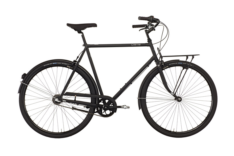 Creme Caferacer Solo Men 3-speed all black 49,5 cm (28