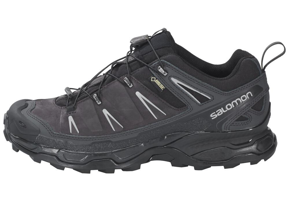 salomon x ultra ltr gtx trekking shoes men asphalt black pewter. Black Bedroom Furniture Sets. Home Design Ideas