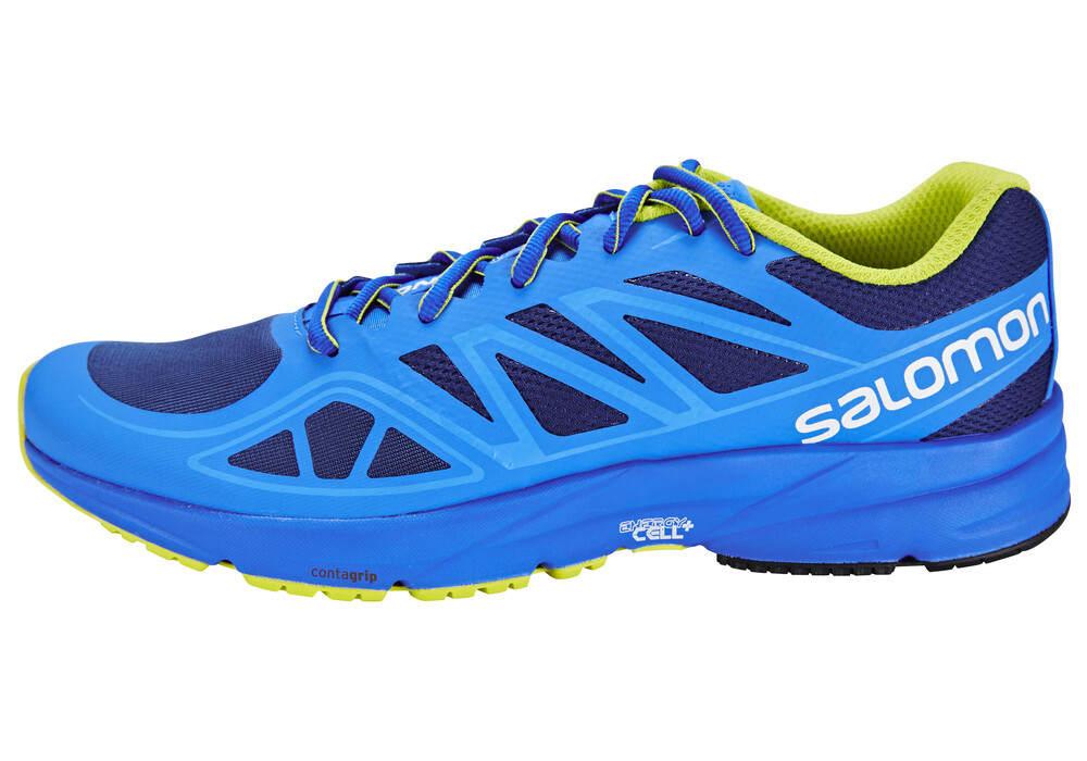 salomon sonic aero chaussures running homme bleu sur. Black Bedroom Furniture Sets. Home Design Ideas