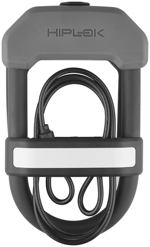 Hiplok DXC Bügelschloss schwarz/grau Fahrradschlösser  HL-LOC-0030