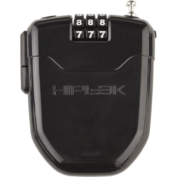 Hiplok FLX Seilschloss mit integriertem LED-Licht schwarz
