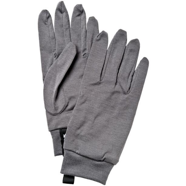 Hestra Merino Wool Liner mörkgrå