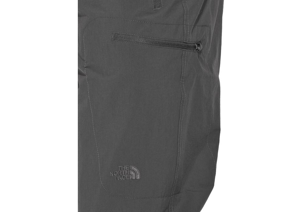 the north face exploration convertible pantalones de trekking gris. Black Bedroom Furniture Sets. Home Design Ideas