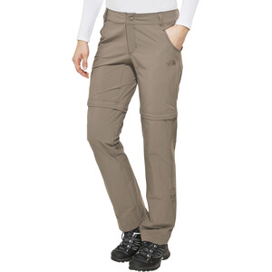 The North Face Exploration Zip-Off Hose short Damen weimaraner brown weimaraner brown